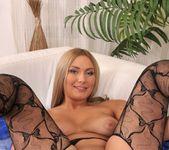 Maja - big black dildo in her ass 13