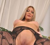 Maja - big black dildo in her ass 25