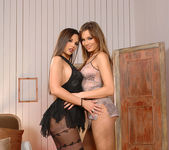 Eve Angel & Kyla Fox - Hot Legs and Feet 2