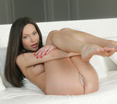 Subil Arch Gets Her Sweet Hole Satisfied In Bed 6