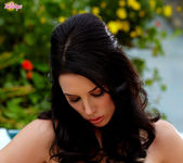 Jelena Jensen Removes Her Clothes Showing Her Holes Off 3