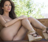 Sexy Emily Addison Bends Over In Her Tight Underwear 12