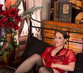 Olga Cabaeva - See Through Lingerie 5