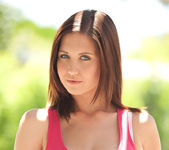Chrissy Marie - Pink Tanktop 4
