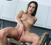Jenny Appach Fucks Her Pink Pussy And Round Ass 14