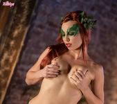 Aidra Fox Enjoys Stripping Off Her Pretty Costume 4