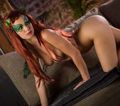 Aidra Fox Enjoys Stripping Off Her Pretty Costume 11