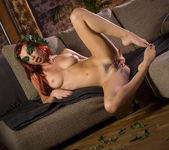 Aidra Fox Enjoys Stripping Off Her Pretty Costume 14