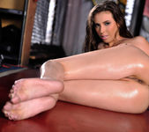 Casey Calvert Finger Fucks Her Wet Pussy After Her Workout 12