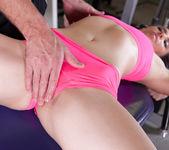 Casey Calvert Makes A Big Dick Cum All Over Her Round Ass 6