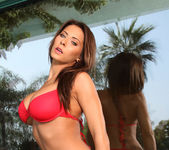 Madison Ivy - Red Boy Short Bikini 2