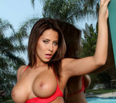 Madison Ivy - Red Boy Short Bikini 8