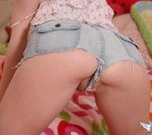 Megan Loxx - Tiny Jean Shorts - SpunkyAngels 6