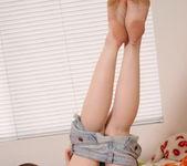 Megan Loxx - Tiny Jean Shorts - SpunkyAngels 10