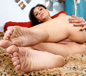 Aimee Black Wraps Her Near Perfect Feet Around a Huge Cock 6