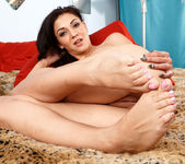 Aimee Black Wraps Her Near Perfect Feet Around a Huge Cock 7
