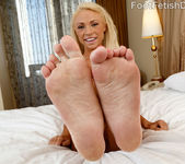 Katerina Kay Wraps Her Pink Toes Around a Big Fat Cock 5