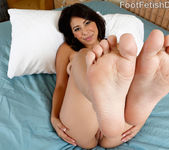 Nicole Ferrera Has Her Smooth Soles Licked and Pussy Fucked 4