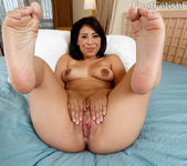 Nicole Ferrera Has Her Smooth Soles Licked and Pussy Fucked 5