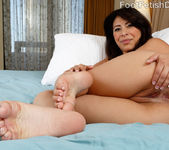 Nicole Ferrera Has Her Smooth Soles Licked and Pussy Fucked 7