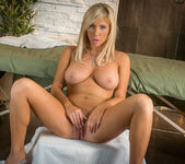 Tasha Reign Spreads Her Legs And Rubs Her Hungry Snatch 15