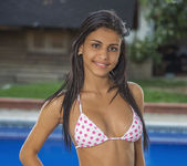 Wet Bikini - Denisse Gomez 8