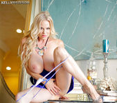 Blue Dress Desire - Kelly Madison 8