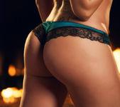 Capri Cavanni Is Horny Alone At Home Celebrating Christmas 3