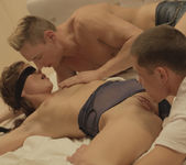 Caprice, Marcello & Jake - In The Blind - X-Art 5