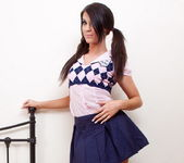 Megan Cox - School Girl - SpunkyAngels 2