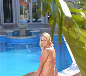 Christen Courtney - poolside nudies - 1by-day 7