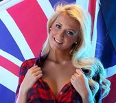 Becki Haddick Strips For Her Country - Spinchix 5
