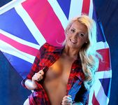 Becki Haddick Strips For Her Country - Spinchix 7