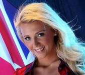 Becki Haddick Strips For Her Country - Spinchix 8
