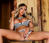 Busty Samantha Saint Pleases Her Snatch With Her Fingers 9
