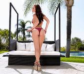Aidra Fox Masturbates Her Moist Pussy Beside The Pool 3