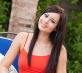 Natasha Belle - Outside In Orange 5