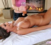 August Ames - Massage Threesome - Club Sandy 15