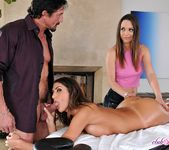 August Ames - Massage Threesome - Club Sandy 23