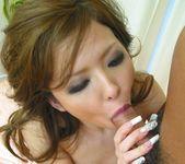 Naami Hasegawa Busty Japanese chick enjoys a hard fuck 9