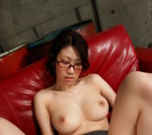 Fukka Takanashi Hot Asian doll is sucking cock in the garage 6