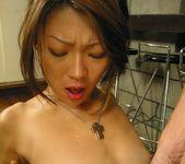 Hot Asian babe Jyuri Wakabayashi gives a blowjob 10