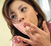 Natsumi Mits Cums From Sex Toys While Giving Head 5