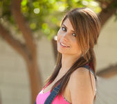 Hailey Leigh - Backyard In Overalls 2