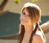 Hailey Leigh - Backyard In Overalls 15