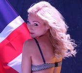 Rachelle's Patriotic Strip - Spinchix 2
