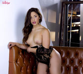 Abella Danger Bends Over And Finger Bangs Her Snatch 3