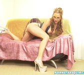 Tiana Lynn, on a couch 5