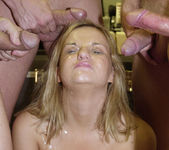 Caitlin gets blowbanged 18