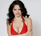 Busty Evie Delatosso Shows Off Her Huge Titties! 8
